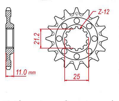 Moto fron Pignone 20CrMnTi 520 Catena per Husqvarna 250 450 510 TXC 250 300 WR Enduro 450 510 610 630 570 SM SMS 450 SMR