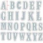 52 teile/satz Große 10cm A Z Alphabete Große Metall Schneiden Stirbt 13cm Kunststoff Schablone für DIY Scrapbooking Handwerk Papier karten Neue 2019 - 1