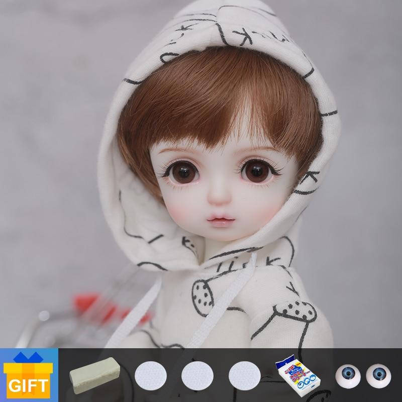 New Arrival Shuga Fairy Doll Bjd Culkin 1/6 Bjd Movable Jointed Resin Cute Doll Children Toys For Girl Birthday Gift