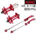 ARC 006 hub 28 32 36 loch 120 ring mountainbike hub 4 Palin 8-11 geschwindigkeit 399 g