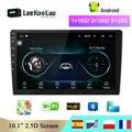 LeeKooLuu 2 din Car Radio GPS Android Multimedia Player Universal 10.1