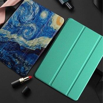 Чехол для планшета Huawei MediaPad T5 10 AGS2-W09/L09/L03 10,1 ''fundas Ultra wake Smart Cover для M5 Lite 10 BAH2-L09/W19 10,1 дюймов