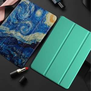 Tablet Case for Samsung Galaxy Tab A 8.0 2019 P205 S-Pen p200 fundas Ultra Slim wake Smart Cover for Tab A 8.0'' SM-P200 Cover(China)