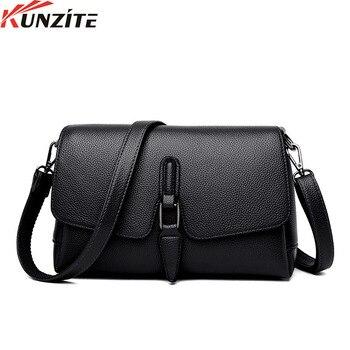 Kunzite New fashionable European and American style handbag simple ladies shoulder bag cross-body bag