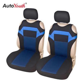 T Shirt Design housse de siège de voiture universel Fit sièges avant soins de voiture criques protecteur de siège pour sièges de voiture 2pc housse de siège 3 couleurs
