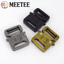 4/10pcs Release Buckle 27mm Outdoor Metal Belt Hook for Backpack Waist Bands Spring Buckles Sew Crafts Accessory AP353 Meetee