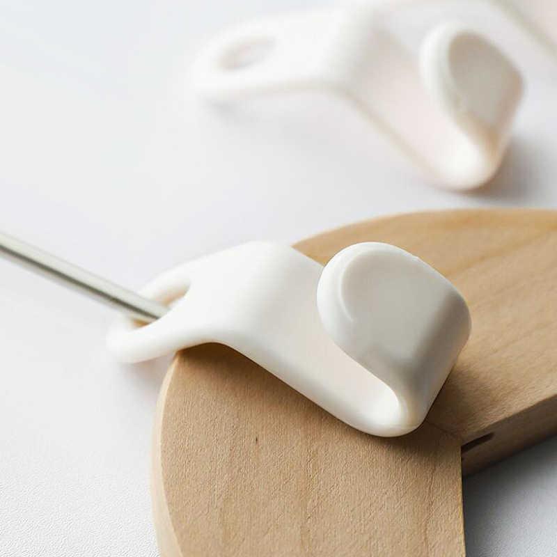 6 шт. mutifuntion практичная Космическая заставка гардеробная вешалка крюк пластиковый для пальто шкаф спальня хранения организации домашние аксессуары