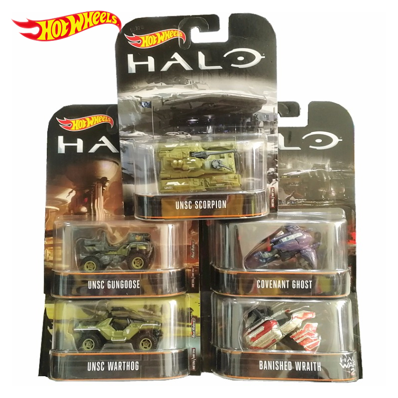 Model-Collection-Toys Chariots Game Halo UNSC Hot-Wheels Classic Boy DMC55 Birthday-Gift