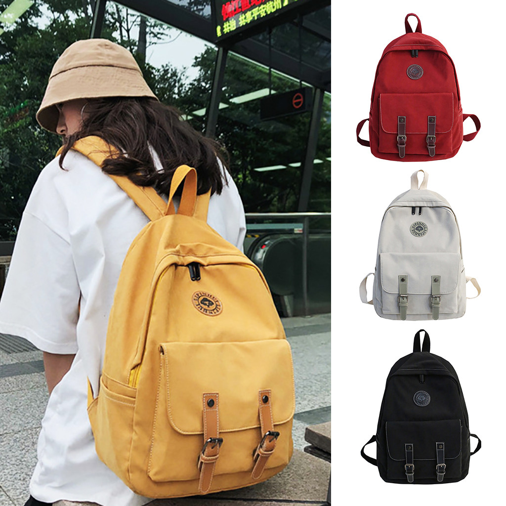 Couple Bag Mochila School Backpack Kanken Travel Nylon Women Fashion Teenagers Mujer