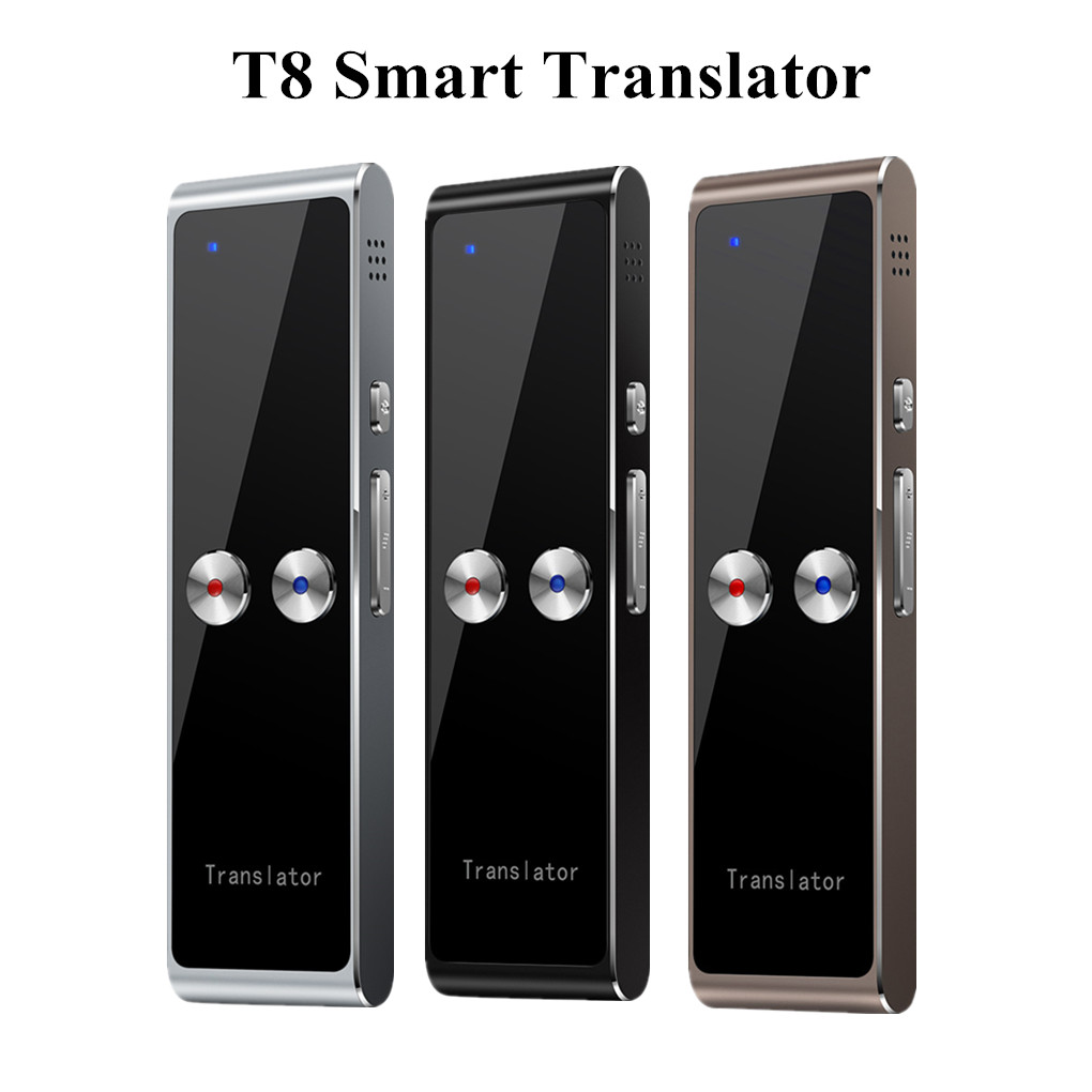 T8 Portable Smart Translator 68 Multi-Languages Two-Way Real Time Translator for Learn Travel Business Meeting image