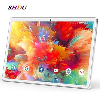 Nowy Tablet Pc 10 1 cala Android 10 0 tablety 32GB ROM Octa Core Google Play 3g 4g LTE połączenie telefoniczne GPS wi-fi Bluetooth 10 cali tanie i dobre opinie SHDU 10 1 CN (pochodzenie) ultra cienkie Z dwiema kamerami Karty tf TYPE-C inne english Rosyjski Spanish SZWEDZKIE Portugalskie