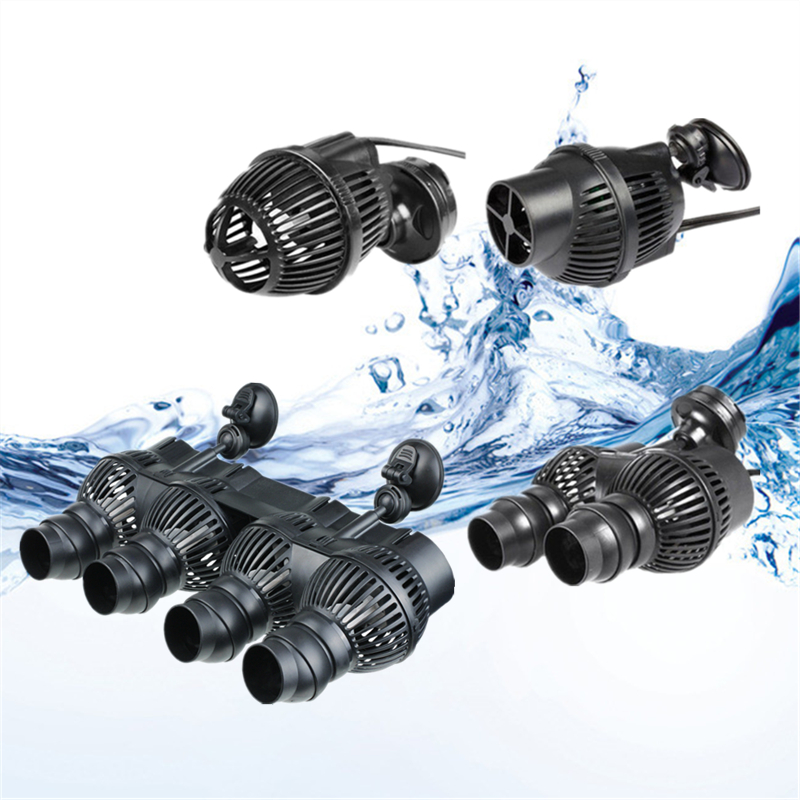 220V Aquarium Wave Maker <font><b>Water</b></font> <font><b>Pump</b></font> Submersible Fish Tank Wavemaker <font><b>Water</b></font> Circulation Powerhead <font><b>Pump</b></font> For Fish Marine Coral image