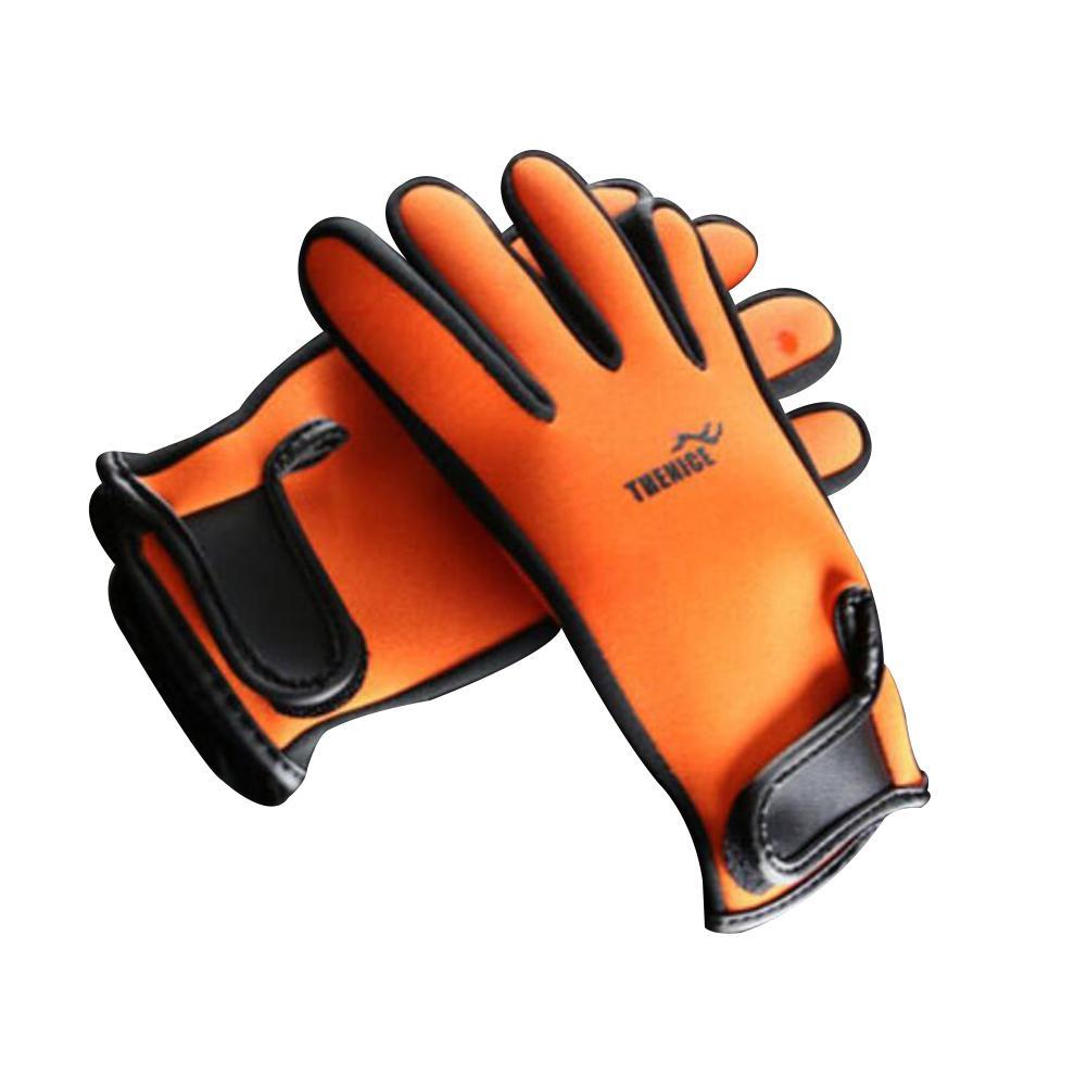 2MM Neoprene Diving Gloves Winter Swimming Snorkeling Warm Ski Glove Anti-slip For Men Women
