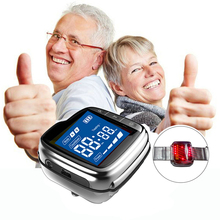 цена на Medical Equipment Laser Therapy Watch Body Lowering Blood Pressure Pain Relief Chronic Pain Stroke Sudden Death