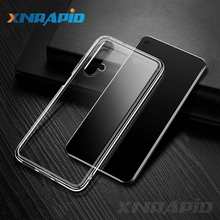 For Huawei Nova 5T Case Slim Transparent Silicone Soft Clear TPU Back Cover for Honor 20 Pro Phone