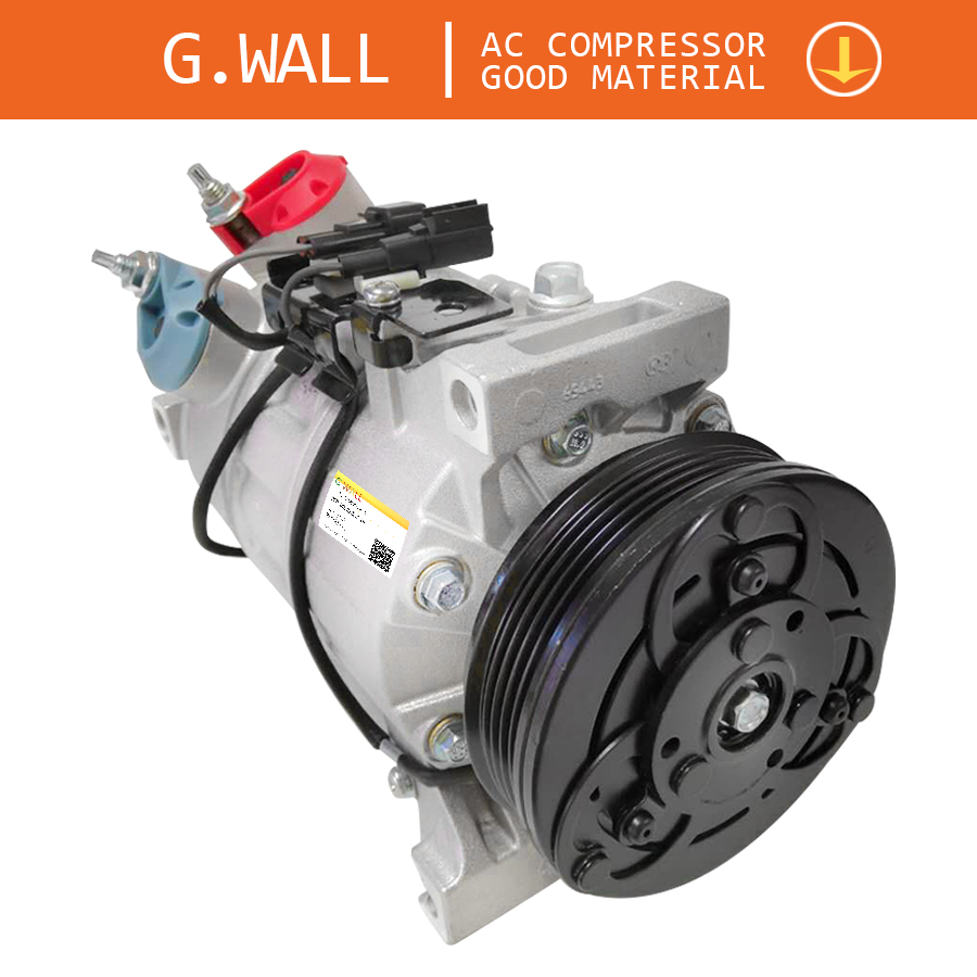 DCS17ECR AC Compressor For Car Volvo S80 II V70 III 36002113 <font><b>30780443</b></font> 31250519 30780459 31291135 36002934 36000456 Z0002259D image