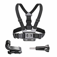 Fixed Camera Shoulder Strap Adjustable Simple Chest Belt Wrist Stable Release Action Accessories for GOPRO DJI Osmo