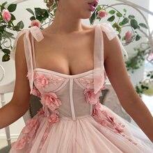 Uzn Новое поступление Розовое ТРАПЕЦИЕВИДНОЕ ПЛАТЬЕ с цветочным