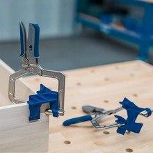 Pince à Angle droit auto-ajustable à 90 degrés, 1 pièces, pince pour le travail du bois, pince rapide, Clip d'angle pour cadre photo, outil à main serre joint