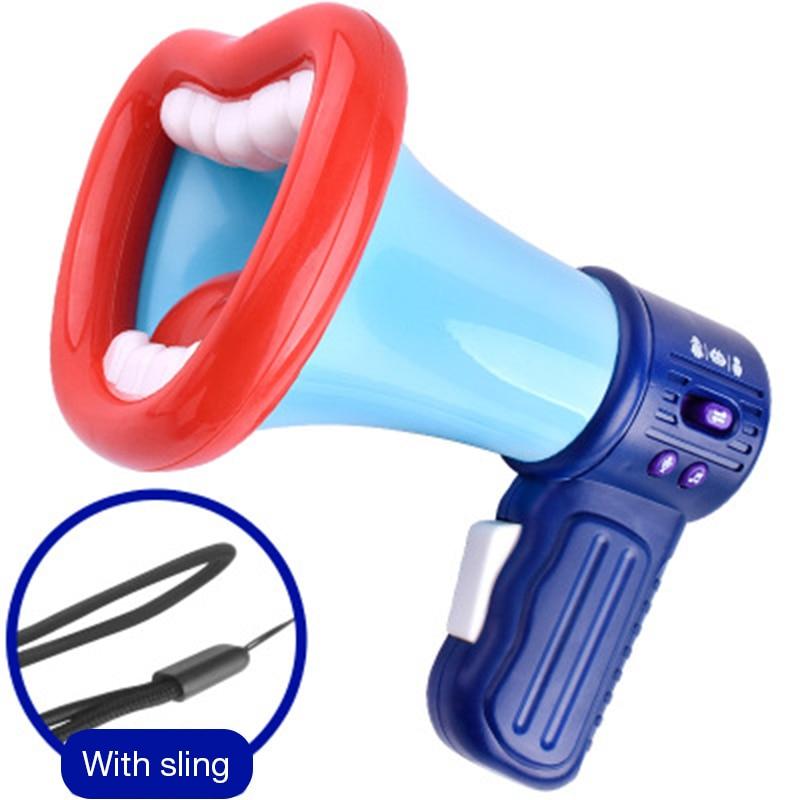 Loudspeaker Voice Changer Recorder Toy Novelty And Creativity Children Handheld Loudspeaker Toys Mini Funny Vocal Kid Toys