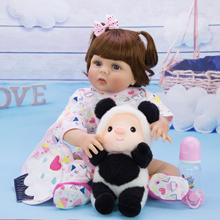New Design Reborn Baby Dolls 57 cm Full Silicone Body Newborn Girl Babies Doll Toy 23 Inch Boneca Reborn Christmas Gifts Present