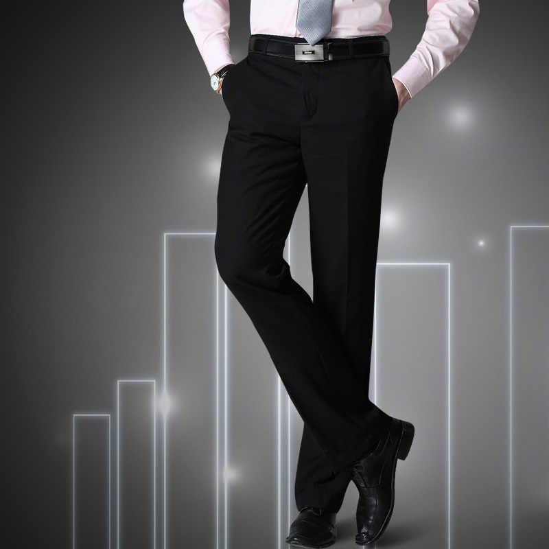 سراويل رجالي مقاس كبير S = 27-40 سراويل سوداء تناسب رجال الأعمال سراويل ماركة رجل ربيع 2020 ملابس داخلية صينية