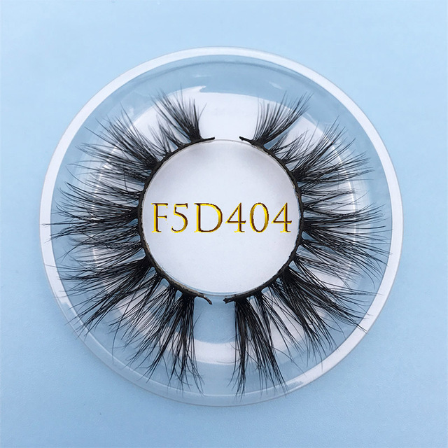 Custom box MIKIWI 24 Styles 100% handmade natural thick  long false eyelash 5D soft dramatic Eye lashes high volume makeup tools 2