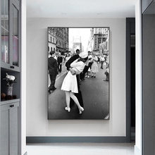 Century kiss second world war скандинавский плакат картина настенные