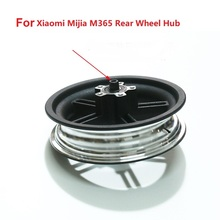 Scooter Tyre Rear Wheel Hub For Xiaomi Mijia M365 Electric Scooter 8.5Inch Tire Rear Rim With Shaft Bearing 1pcs dac42800045m abs 42x80x45 dac42800045m kit dac42800045abs hub rear wheel bearing auto bearing for mazda