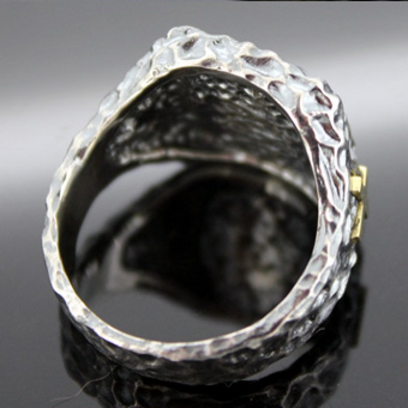 2019 nouveau 100% réel 925 pur argent bijoux vierge marie croix bague en argent pour homme rétro Thai argent femmes marée anneau hommes bague - 6