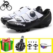 цена Cycling Shoes Sapatilha Ciclismo Mtb Mountain Bike Men Bicycle Breathable Self-locking Riding Bike Sports Superstar Sneakers онлайн в 2017 году