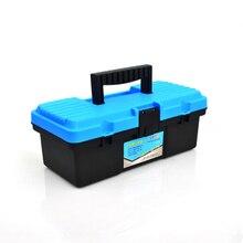 Пластиковый ящик для инструментов, многофункциональный бытовой аппаратный и электрический инструмент для технического обслуживания, улучшенная коробка для впуска транспортного средства