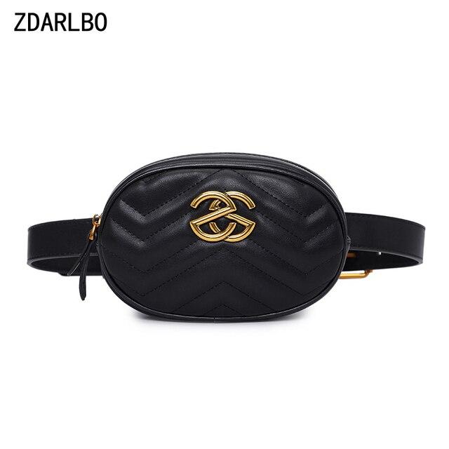Alta qualidade das mulheres fanny pacote de couro do plutônio saco da cintura feminina banana cinto bolsa ombro crossbody sacos peito designer luxo bolsa