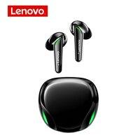 Lenovo-auriculares TWS XT92 originales, cascos estéreo de graves con micrófono y reducción de ruido, Control ia de auriculares inalámbricos con Bluetooth, para videojuegos