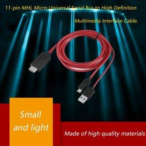 2021 новейший Лидер продаж MHL Micro USB к HDMI совместимым 1080P ТВ кабель адаптер для телефонов LG Android Samsung 11PIN|Кабели HDMI|   | АлиЭкспресс