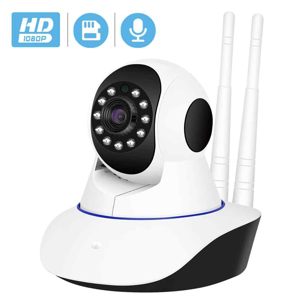 BESDER กล้อง IP ไร้สาย 1080P WiFi Network Security Night Vision กล้องวิดีโอเสียงกล้องวงจรปิด P2P ICSee Baby Monitor