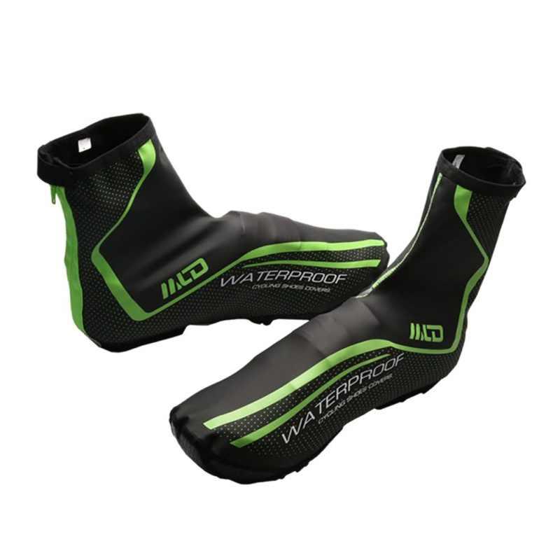 サイクリング靴カバー反射防水防風暖かい靴カバー自転車オーバーシューズ MTB ロードバイクサイクリングカバー