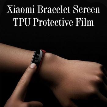 Protective Film For Xiaomi Mi Band 5 Smart Watch Screen Soft Bracelet Screen Full TPU Permeability Accessories Film Film Y5X5 image