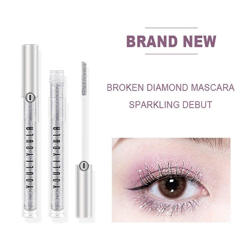 Diamond Mascara Makeup-Cream Eyelash Long-Lasting Waterproof Star for Party Charming