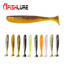 Soft Fishing Lure 70mm 2.3G Bait wobblers 10pcs/bag