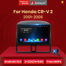Junsun V1 Android 10,0 DSP CarPlay Auto Radio Multimedia Video Player Auto Stereo GPS Für Honda CRV 2 2001 - 2006 2 din dvd