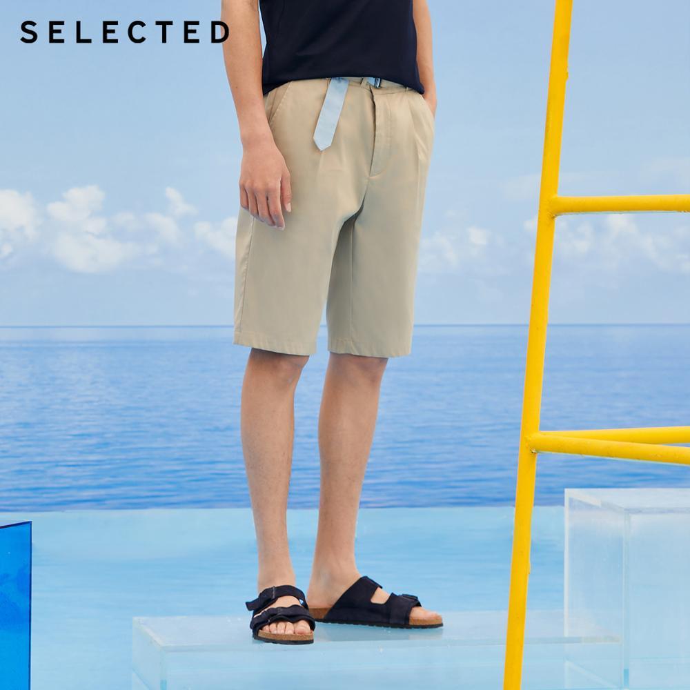 SELECTED Men's Loose Fit Waist Belt Assorted Colors Shorts LAB|4202SH519
