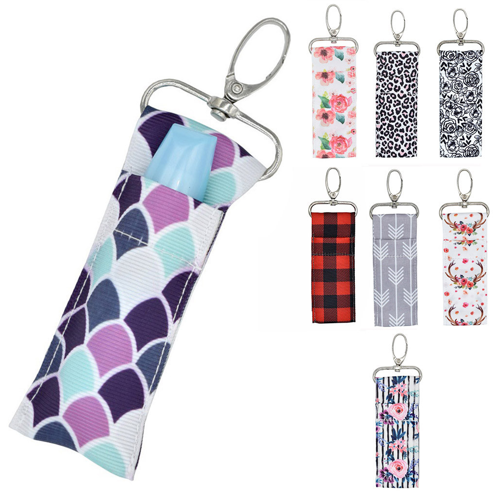 Colorful Arrows Purse Hanger with Keychain