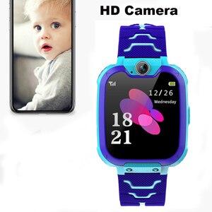 Image 3 - S10 키즈 스마트 시계 전화 다이얼 터치 스크린 카메라 게임 음악 재생 시계 SOS Smartwatch 설정 언어 Relogio Watch