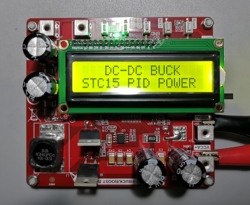 Single-chip Microcomputer PID Algorithm Digital Power Development Board BUCK / BOOST Step-up and Step-down DCDC