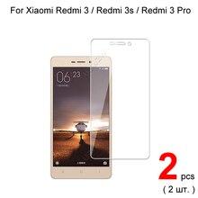Cristal para Xiaomi Redmi 3 / Redmi 3s / Redmi 3 Pro Premium 2.5D 0,26mm Protector de pantalla de vidrio templado película vidrio protectora