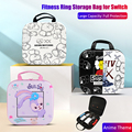 Cute Ring-Con Carrying Case for Nintendo Switch Fitness Ring Storage Bag Nintend Switch Console& Game Accessories