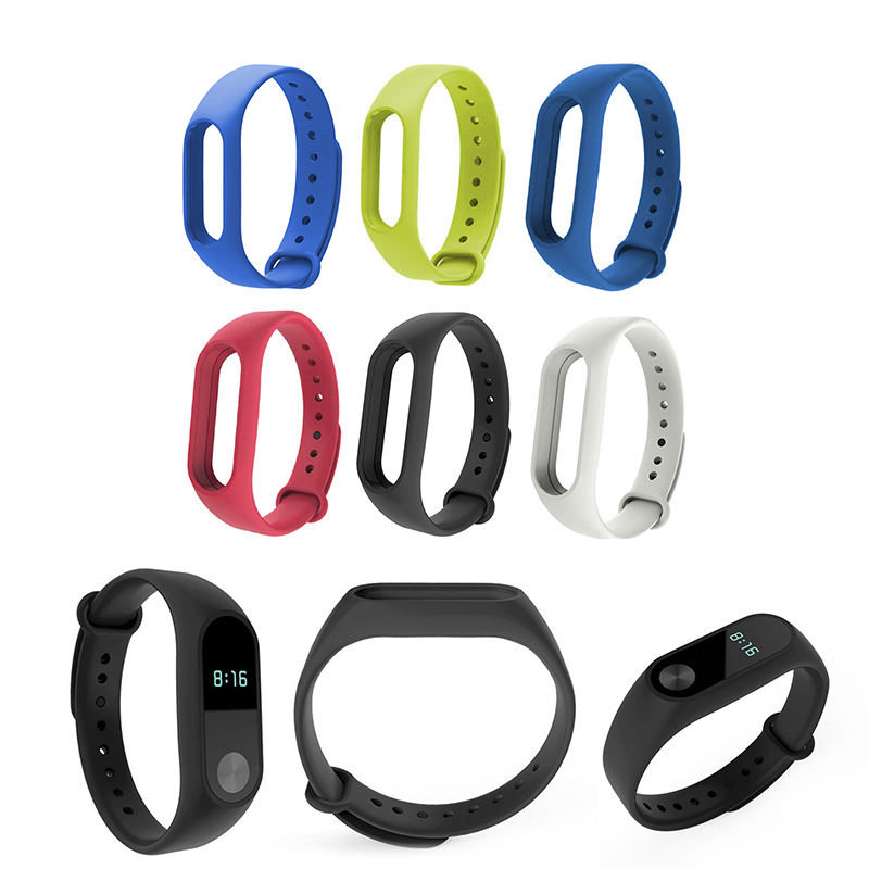 For Xiaomi Mi Band 2 Strap Bracelet Watch Band Replacement Smart Bracelet Original TPU Strap WristBand Watchband