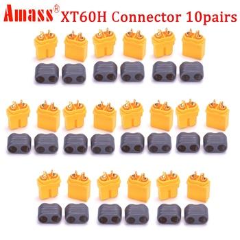 20 piezas (10 hembra y 10 macho) Conectores de alta calidad XT30 XT30U XT60 XT60H XT60L XT60PW XT90 XT90S  conector enchufe para batería quadcopter multicóptero dron 2