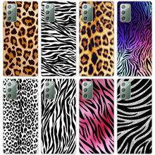 Мягкий чехол для телефона с леопардовым принтом зебры для Samsung Galaxy Note 20 Ultra 10 9 S20 FE S10 Lite S10E S9 S8 Plus, силиконовый чехол